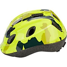 BBB Boogy BHE-37 Helm Kinder camouflage neon gelb